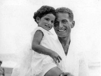 Liliana Segre con il padre Alberto