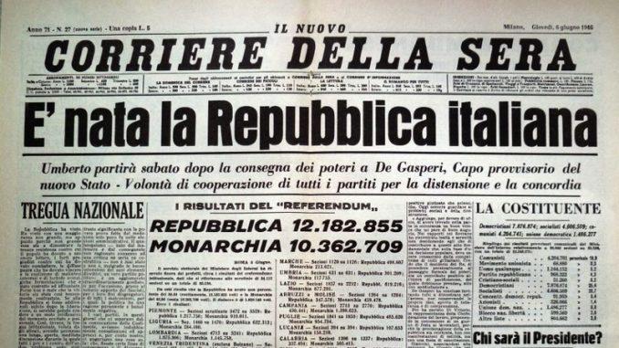 2 giugno 1946 corriere della sera