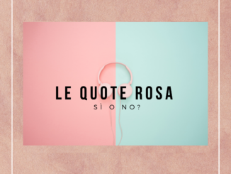 Quote rosa. sì o no?